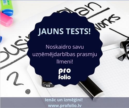 Uzņēmējdarbība.Tests.