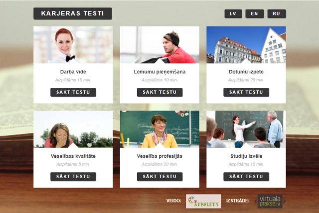 Karjeras izvēles testi