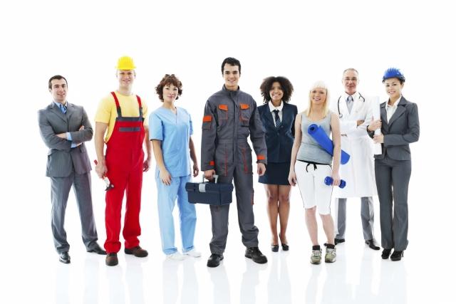 Palīgi karjeras izvēlē - dažādu jomu profesionāļi.