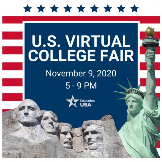 Virtuālā izglītības izstāde par studijām ASV