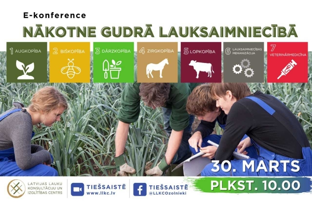 """Konference """"Nākotne gudrā lauksaimniecībā"""""""