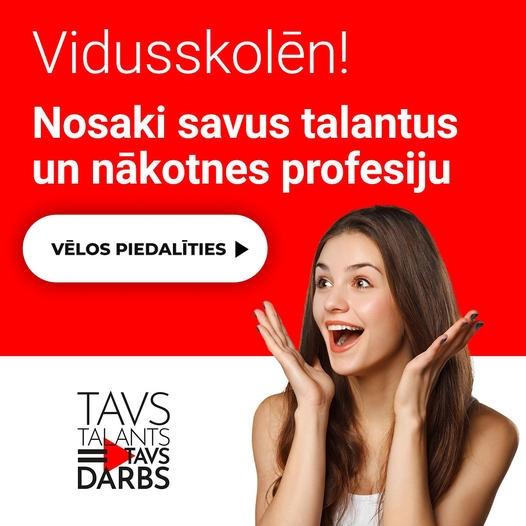 TAVS TALANTS = TAVS DARBS