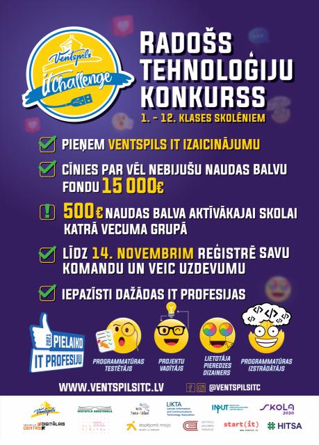 """""""Ventspils IT izaicinājums 2021"""""""