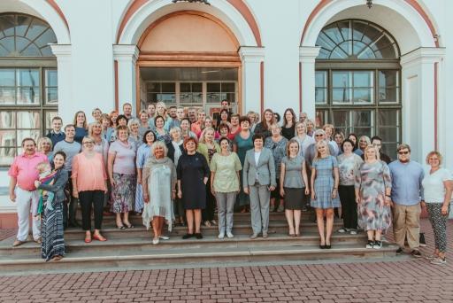 Skolotāju kolektīvs 2018./2019. mācību gadu uzsākot