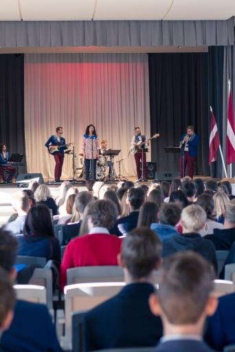 Svinīgais pasākums, kas veltīts Latvijas simtgadei