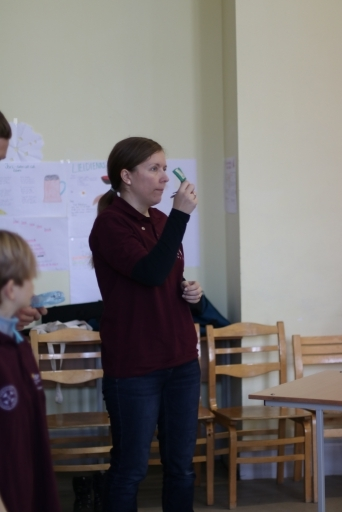Pirmās palīdzības mācības skolēniem