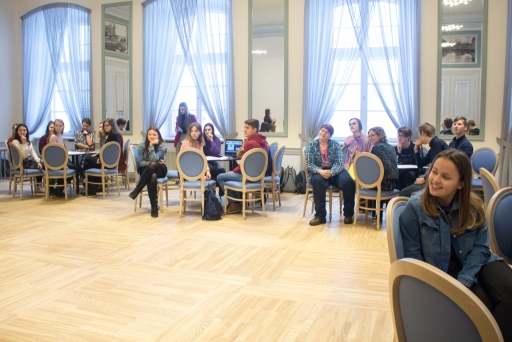 Jelgavas skolu skolēnu pašpārvalžu seminārs