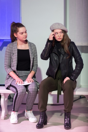 """Skolas teātra studijas pirmizrāde """"Ēzopa fabulas. 21.gs"""""""