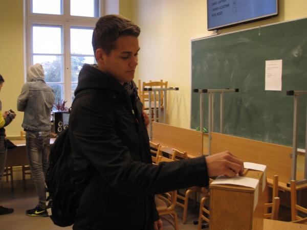 Skolēnu padomes prezidenta vēlēšanu rezultāti