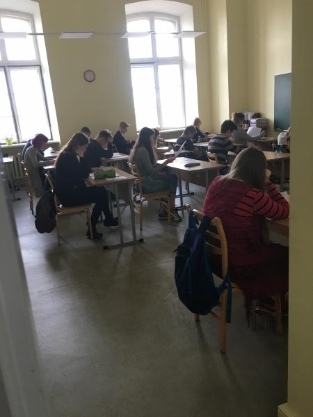 Reģionālā angļu valodas olimpiāde 8. un 11.klasēm.
