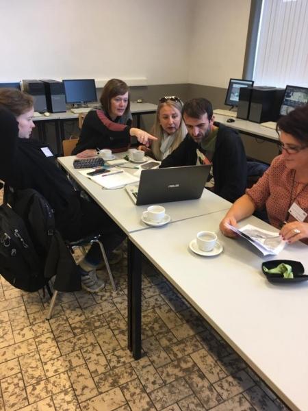Erasmus+ projekta sanāksme Beļģijā