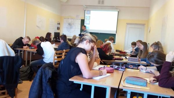 Erasmus+ projekta sanāksme Jelgavas Valsts ģimnāzijā