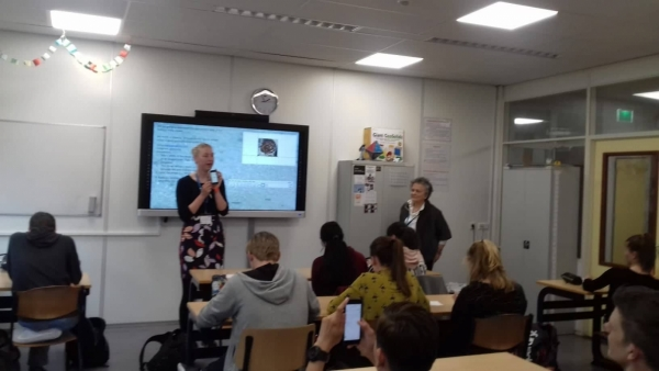 Erasmus+ projekta sanāksme Nīderlandē