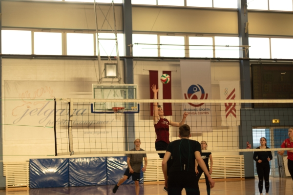 Volejbola turnīrs!