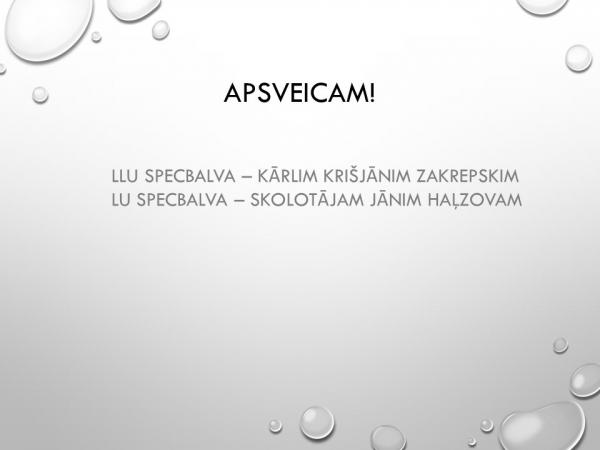 Latvijas skolēnu 45. zinātniskās pētniecības darbu valsts konferences rezultāti