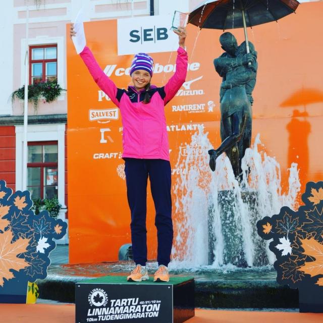 Pievienojamies sveicieniem Anastasijai par sasniegumiem sportā