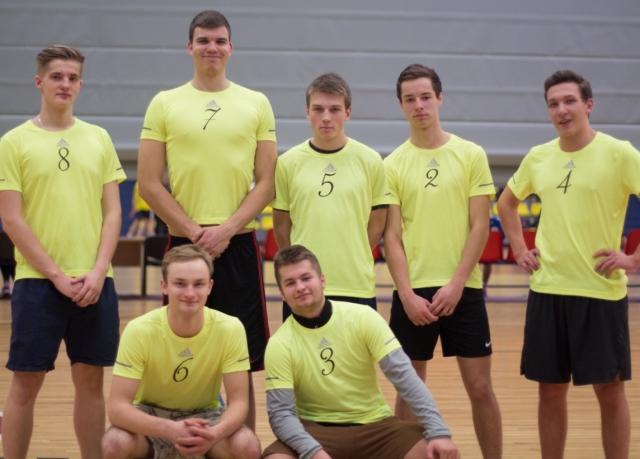Puišiem 2. vieta Jelgavas pilsētas 45. spartakiādē volejbolā