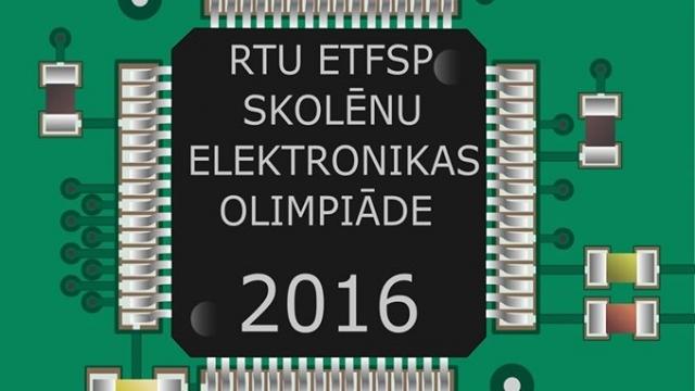 RTU studenti aicina skolēnus piedalīties Elektronikas olimpiādē