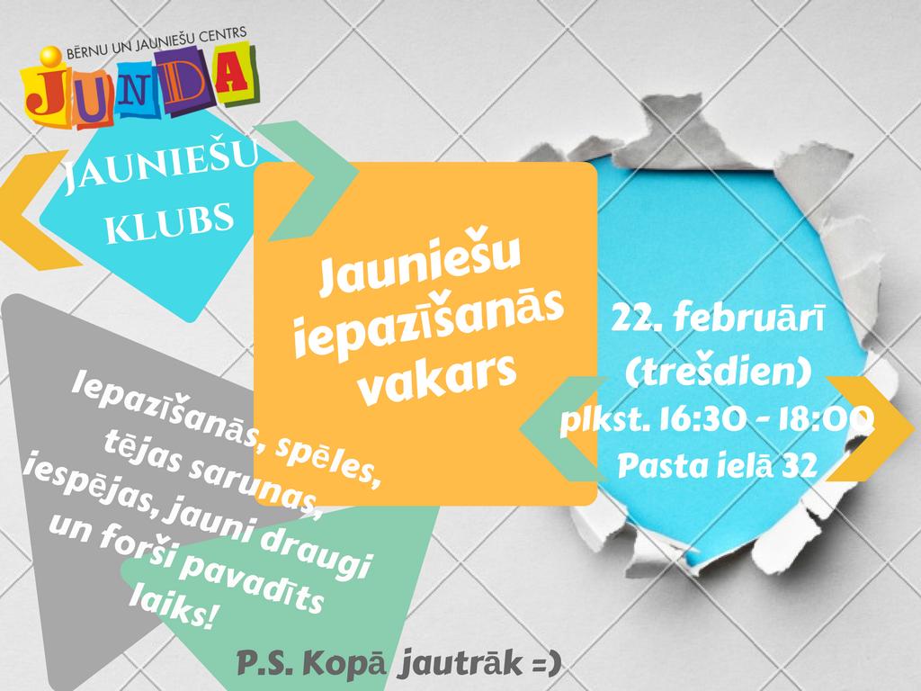 Junda - Jauniešu klubs