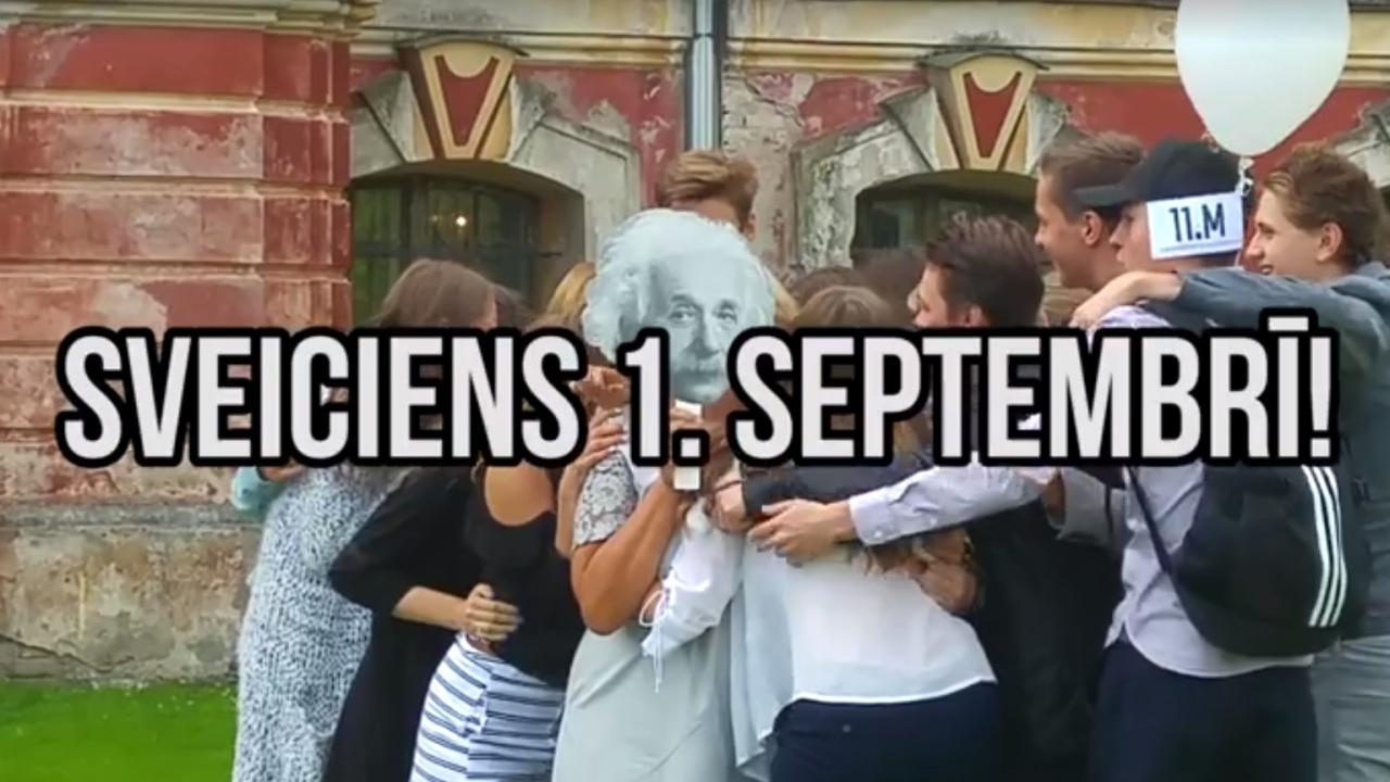 1. septembra sveicieni