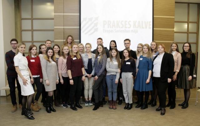 Linda Grāvīte uzvar konkursā dalībai PRAKSES KALVĒ 2017
