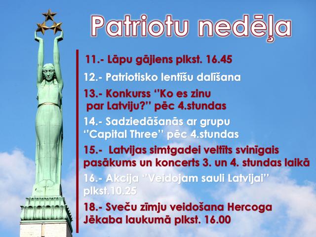 Patriotu nedēļa