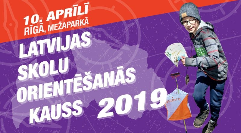 Latvijas skolu orientēšanās kauss 2019