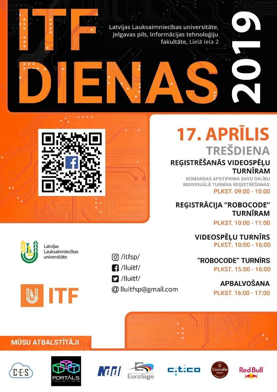 LLU ITF Dienas 17.04.2019