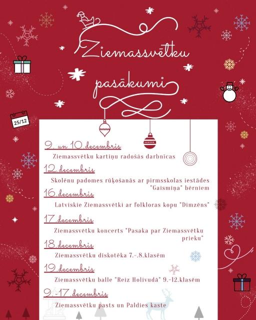 Ziemssvētku pasākumi
