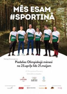 Olimpiskais mēnesis 2021