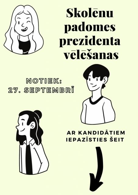 Izvēlies nākamo JVĢ prezidentu!